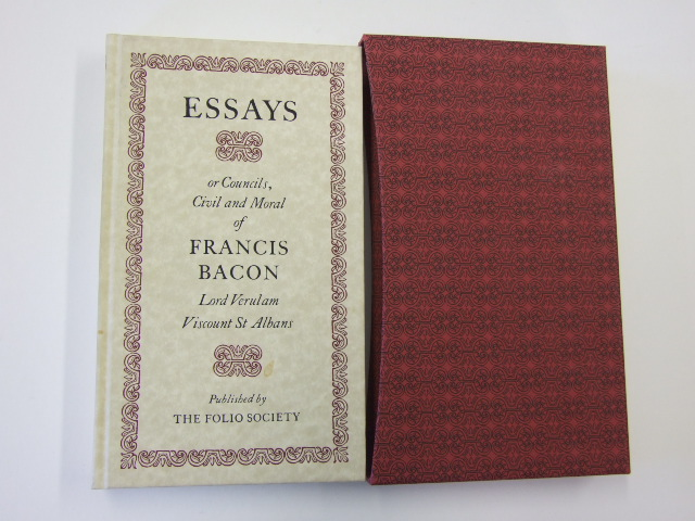 Francis Bacon Essays Summary