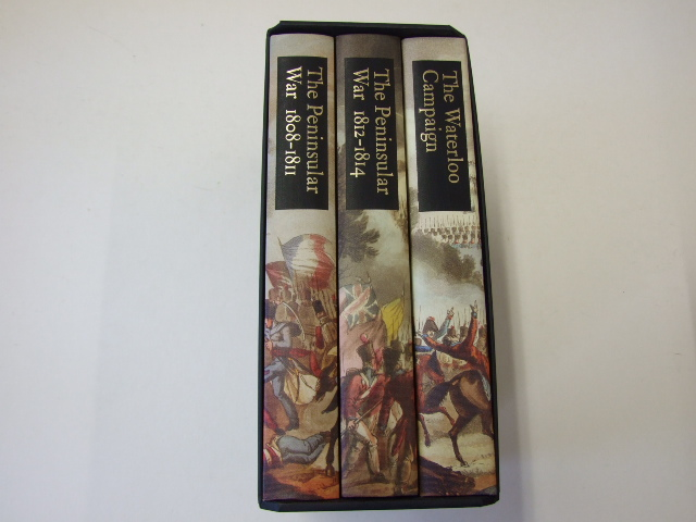 The Campaigns of Wellington: The Peninsular War 1808-1811; The Peninsular War 1812-1814; the Waterloo Campaign