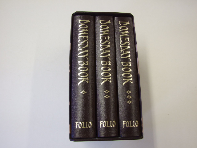 The Domesday Book A Complete Translation 3 volume set