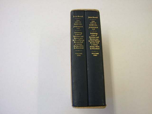 The Life of Samuel Johnson (Two Volumes)