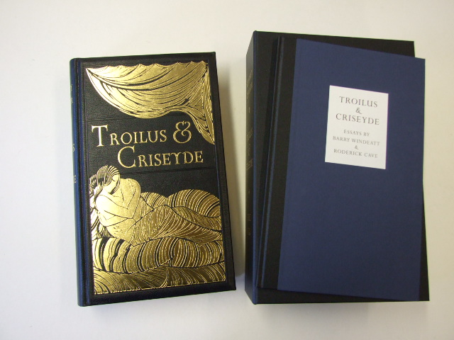 Troilus and Criseyde Eric Gill engravings Limited Edition