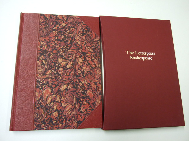 The Letterpress Tragedy of Coriolanus Limited Edition