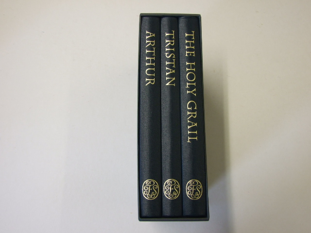 Legends of King Arthur (3 volumes in a single slipcase) Arthur, The Holy Grail and Tristan
